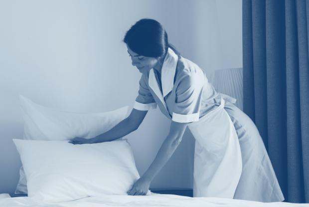 Toallas siempre limpias para los clientes y gran control y seguimiento de las mismas