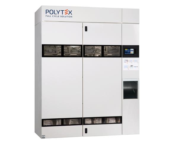 La unidad de dispensación Polytex D200 es ideal para instalaciones de tamaño moderado y mediano.