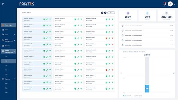 aplicación web intuitiva que mejora las capacidades de gestión de inventario y de trazabilidad del vestuario laboral.
